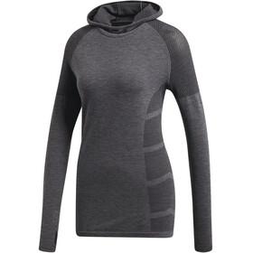 adidas Ultra Climaheat Primeknit LS Hoodie Women Black